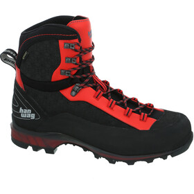 Hanwag Ferrata II GTX Schoenen Heren, black/red